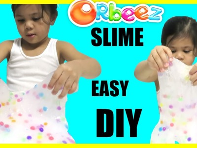DIY ORBEEZ SLIME. GLASS PUTTY with Disney Pixar Cars Thomas and Friends