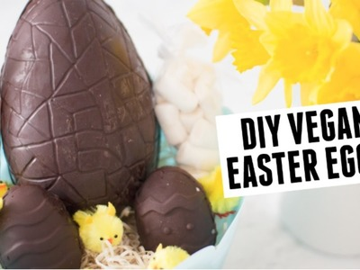 DIY VEGAN EASTER EGGS!