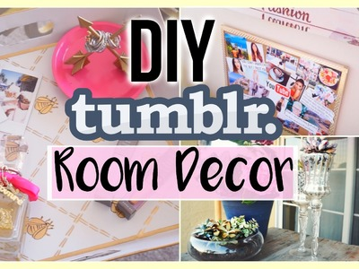 HOW TO MAKE YOUR ROOM TUMBLR | DIY Tumblr Room Decor