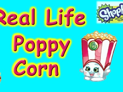Shopkins Videos DIY Poppy Corn - Shopkin Season 4,cookie swirl c inspired,shopkins walmart
