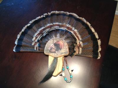 Turkey Fan Mount DIY Kit