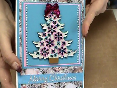 #133 Tonic Studios Nuvo Sheer Glitters & Easy DoCrafts Holiday Ornaments by Scrapbooking Made Simple