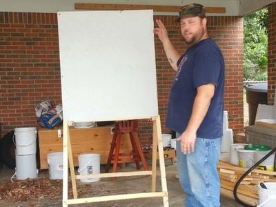 $5 DIY Folding Target Stand
