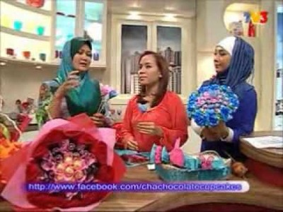 CHOCOLATE HAND BOUQUET DI WANITA HARI INI (WHI TV3) .wmv