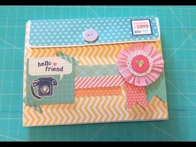 Envelope Flip Book for A Dear Friend