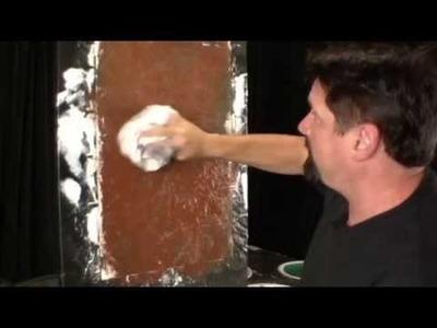 Faux painting techniques for walls , brick technique