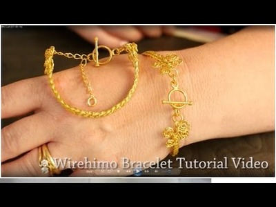 Helen O'Connor - Introduction to Wirehimo, Kumihimo, Wire Braiding, Wire Weaving, Bracelet Wire Work