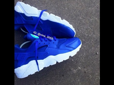 HOW TO CUSTOMIZE HUARACHES SNEAKERS