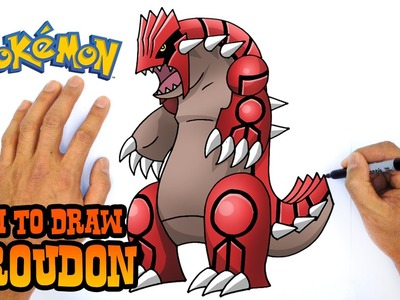 How to Draw Groudon (Pokemon)- Step by Step Art Lesson