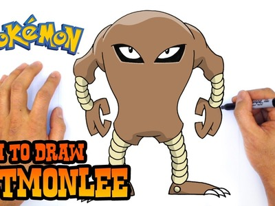 How to Draw Hitmonlee (Pokemon)- Kids Art Lesson