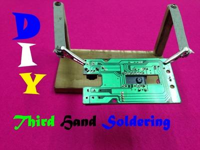 How to make a third hand welding - Third Hand Soldering Holder
