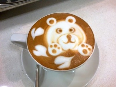 How to make cute latte art - Cappuccino latte art