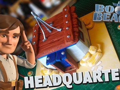 Making a Real Boom Beach Headquarters