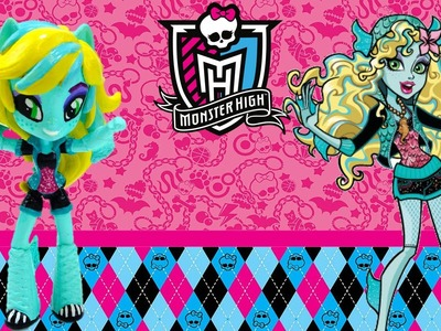 New Custom Monster High Laguna Blue Doll From My Little Pony Equestria Girl Tutorial