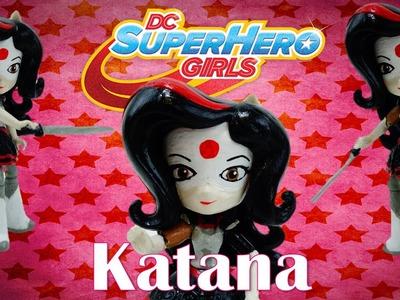 New DC Super Hero Girls Katana Custom - My Little Pony Equestria Girls Mini Tutorial