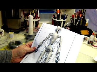 Sculpting Basics Pt 1 ~ Armature Making for Small Figures