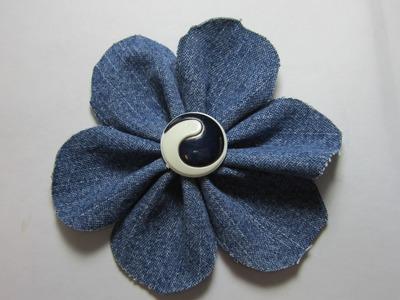 20.  Creative DIY Fabric Flower ✔️