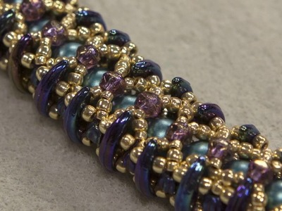 Accordion Stitch and Asymmetrical Beads with Nichole Starman