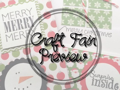 Craft Fair Preview