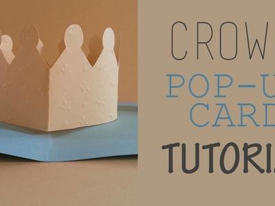 Crown Pop Up Card Tutorial