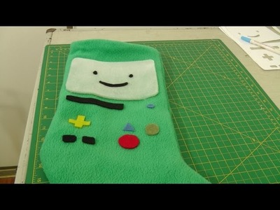 DIY Adventure Time Stocking - Supplementary Footage