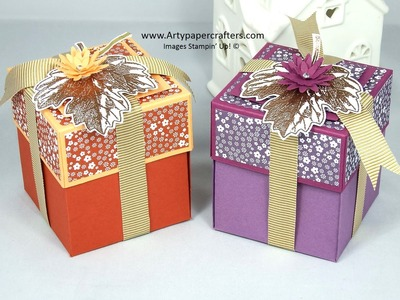 Easy Explosion Gift Box using Stampin' Up! products
