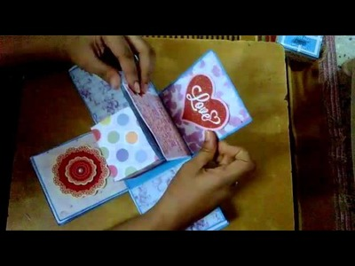 Hand-made Greeting Cards (quilling & box)