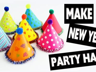 Happy New Year - New Year Doll Hats - Easy Doll Crafts - simplekidscrafts