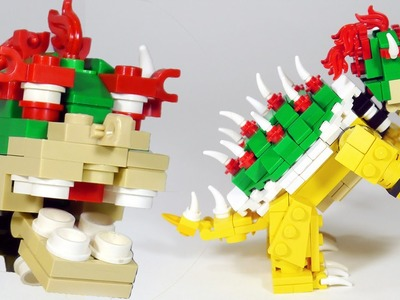 How To Build LEGO Bowser (Nintendo, Super Mario, Super Smash Bros.)