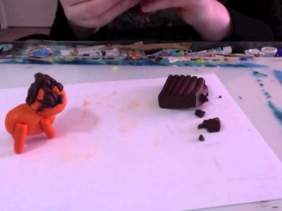 How To Make A Cute Clay Lion