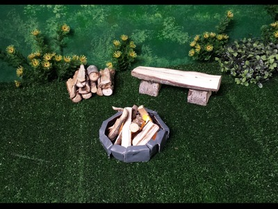 How to make a Doll Fireplace