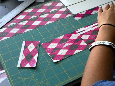 How to make a duct tape wallet (no fold-over lines)