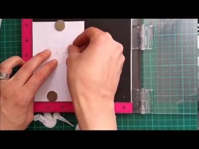 How to Use the MISTI with Die Cuts & Matching Stamps
