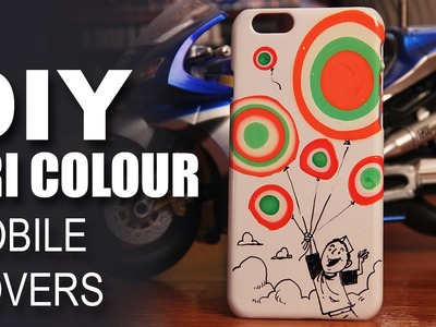 Mad Stuff With Rob - How To Make DIY Tri Colour Indian Flag Mobile Covers | Independence Day Special