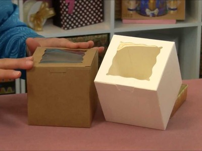 One-Piece-Window-Cupcake-Box-with-Insert.wmv