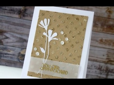 Ranger Foil + Sticky Embossing Powder - Know How Friday #21
