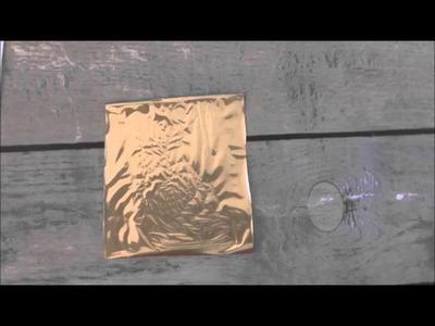 Stampin Up! Rose Wonder Foil Stamping Tutorial