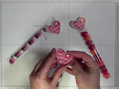 Valentine Treat Bundle by Stampin' Up! - Project Tutorial