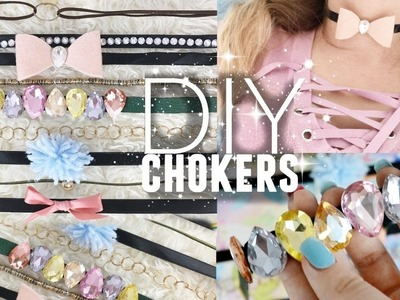 10 DIY CHOKERS YOU NEED TO TRY!