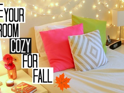 4  Ways to Make Your Room Cozy for Fall!