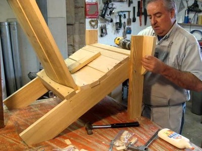 Adirondack Chair ready to assemble RTA Gift idea for the garden patio outdoor furniture