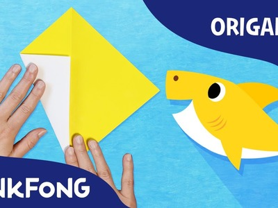Baby Shark | Animal Song With Origami | PINKFONG Origami | PINKFONG Songs for Children