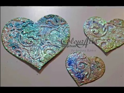 ColourArte Mixed Media  Backgrounds for Card Making by Barbara Rankin