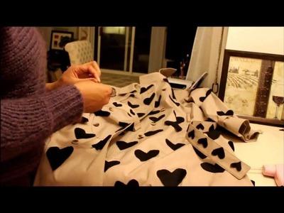 DIY Burberry Inspired Heart Trench Coat