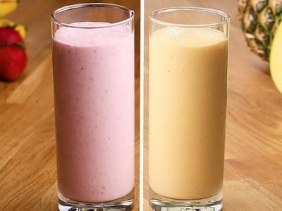 Freezer-Prep Fruit Smoothies
