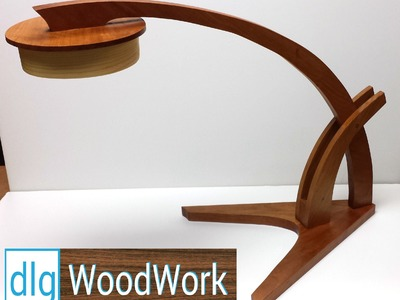 How to Build the Wood Magazine Prairie-Grass Desk Lamp