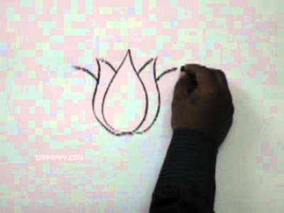 How to Draw a Lotus