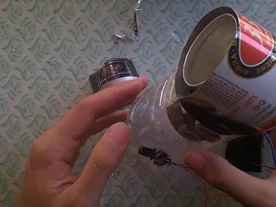 How to make bladeless fan