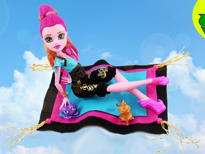 How to make GiGi Grant's Magic Carpet - Doll Crafts - simplekidscrafts