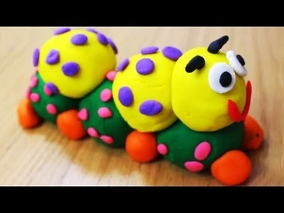 How to Make Play Doh Caterpillar
